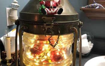 q latern christmas project
