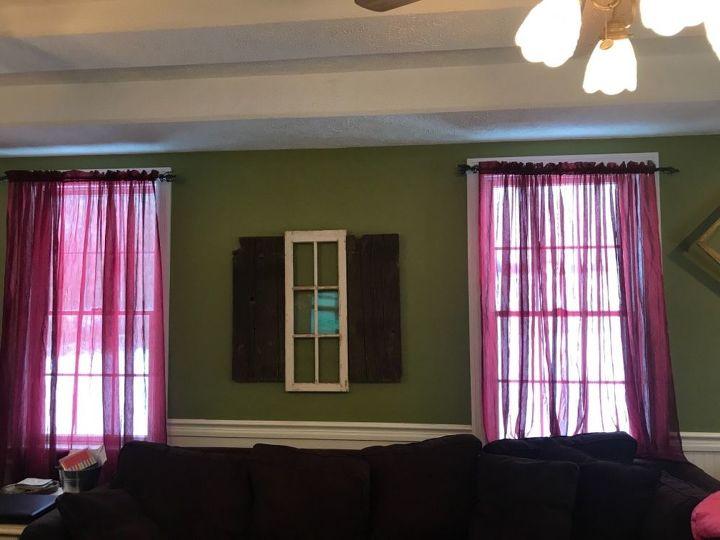 q livingroom window help curtains blinds or valances