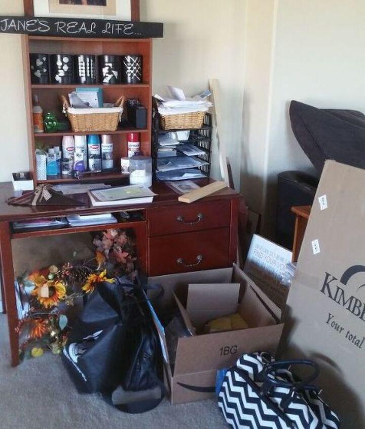 diy office workspace revamp