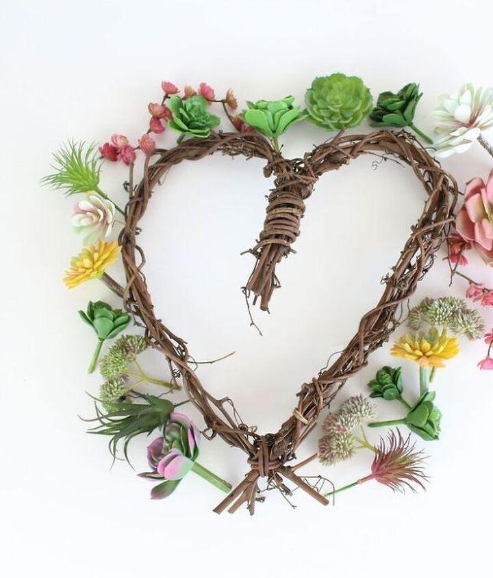 diy succulent wreath