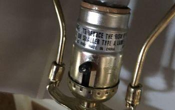 q broken lamp switch
