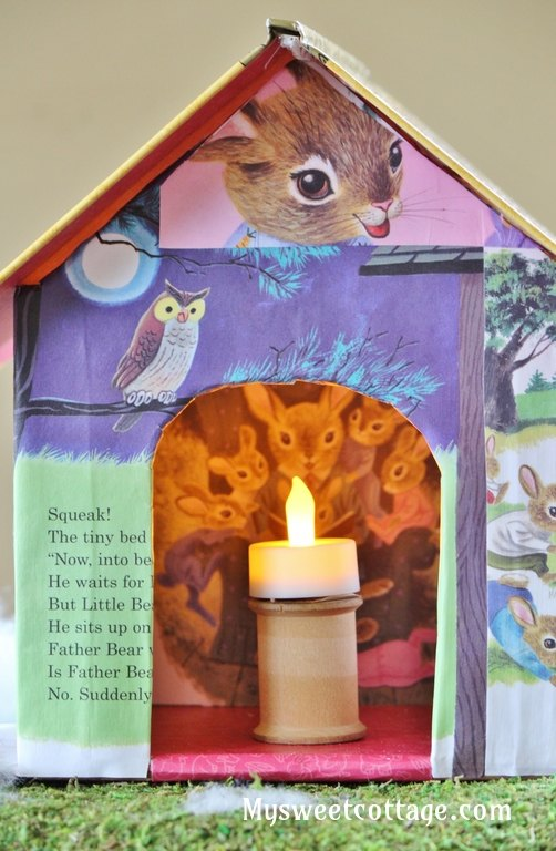 the storybook house a charming holiday diy craft