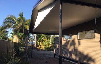 q carport on new home