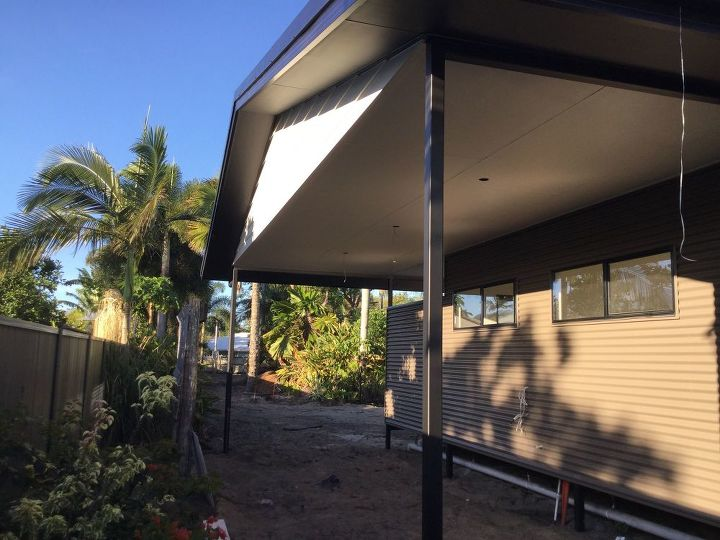 q carport on new home