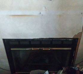 how can i redo my ugly mobile home fireplace hometalk rh hometalk com electric fireplace for mobile home fireplace install mobile home