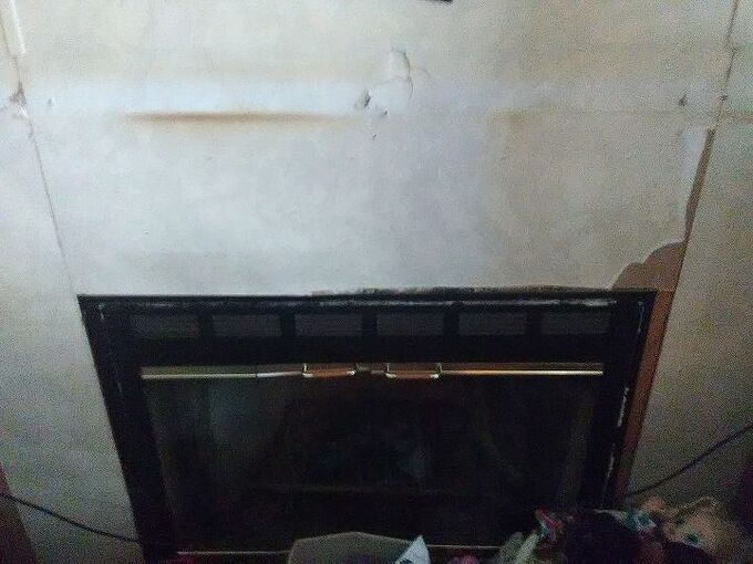 q ugly mobile home fire place