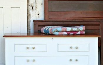 new modern look for outdated cedar chest