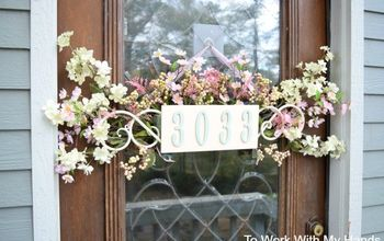 s adorable address plaques to dress up your doors