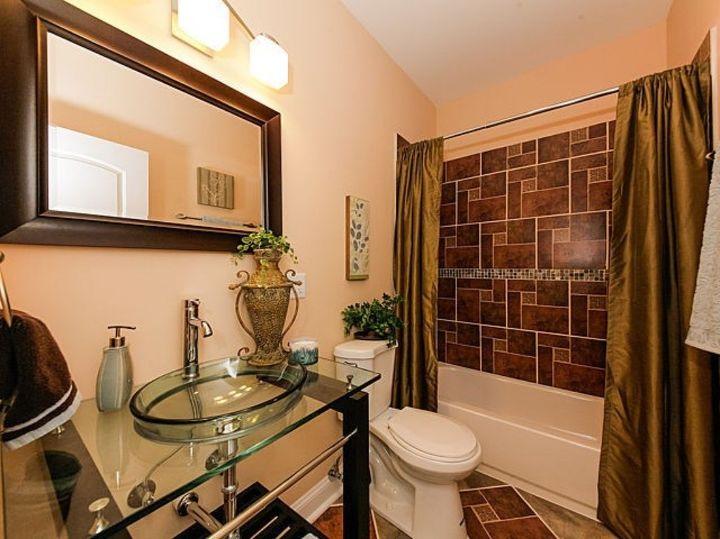 s bathroom renovation under 1k, Before