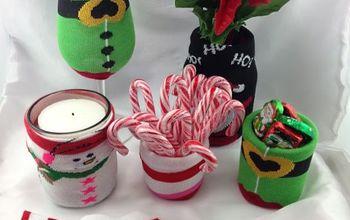 More Great DIY Christmas Sock Cozie Ideas!
