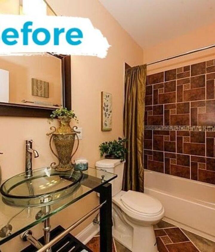 under 1k bathroom renovation