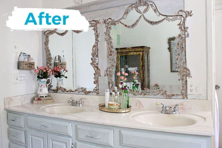 mirror builders grade turned trumeau