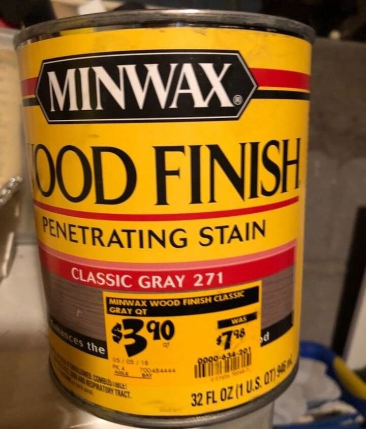 Classic gray stain