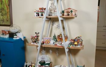 a frame ladder alternative christmas tree
