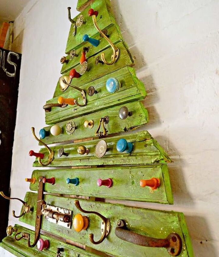 s 19 diy christmas decor ideas that ll rock your holiday, rock the scrap out of this Christmas