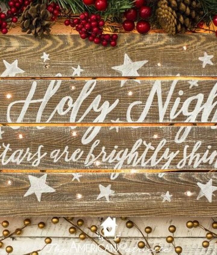 s 19 diy christmas decor ideas that ll rock your holiday, Start with gorgeous greeting signs