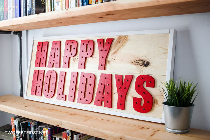 s 19 diy christmas decor ideas that ll rock your holiday, and brighten up your home