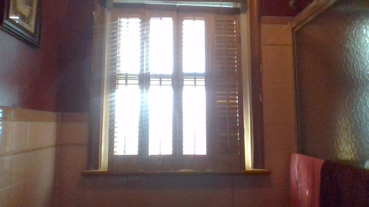 q how to make wrong size interior shutters work
