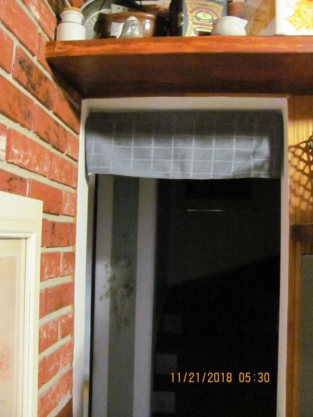 q creative idea for doorway