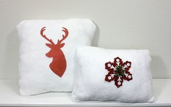 Dollar Tree DIY | Towel to Christmas Pillow | Christmas Decor | Budget