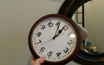giving a clock a new look