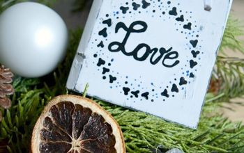 Create Beautiful Rustic Christmas Ornaments Using Palletwood