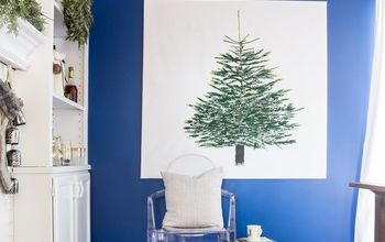 ikea margareta vinter christmas tree fabric diy