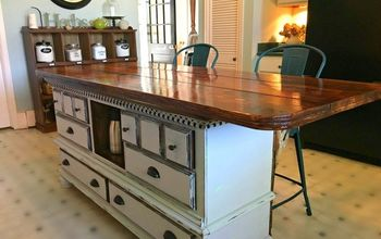 perfect size height kitchen island diy