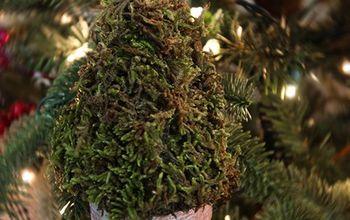 Mini Topiary Christmas Ornaments