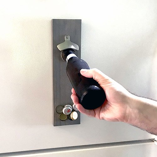 diy magnetic bottle opener
