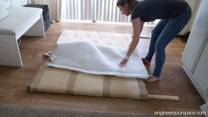 How To Easily Build And Install A Diy Headboard No Holes Required