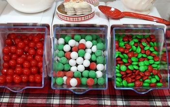holiday party candy bar and fillin station