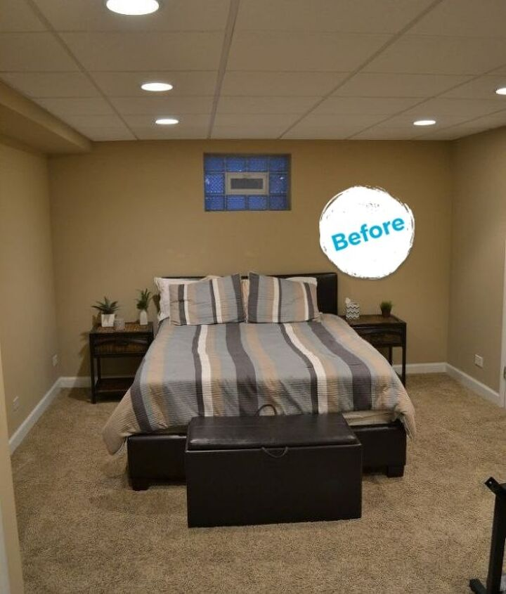 s guest room makeover edition, A Guest Room Transformed