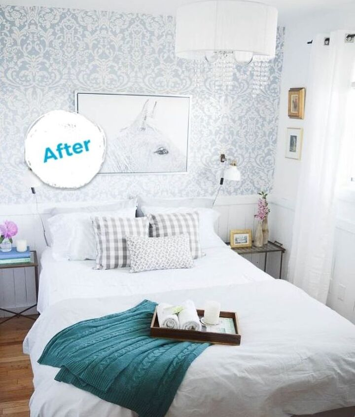 s guest room makeover edition, AFTER I can t believe how far it s come