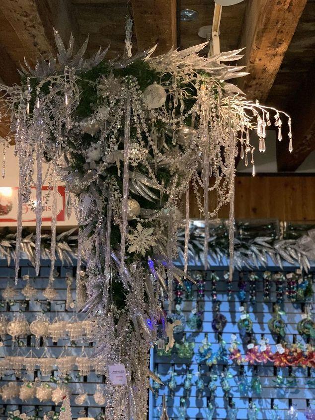 q how can i hang my christmas tree upside down