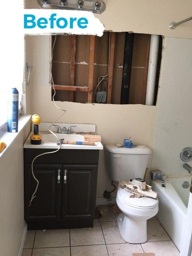small master bathroom budget makeover