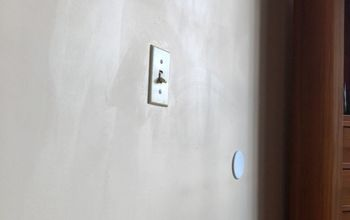 q how to remove magic sponge marks on flat paint walls