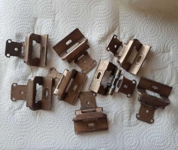 how to quickly clean and update your old cabinet hinges