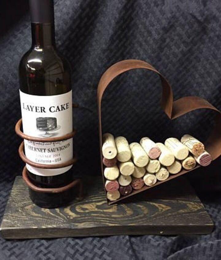 wine bottle cork holder