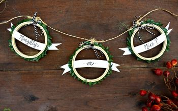 diy 10 mini embroidery hoop christmas crafts that anyone can make