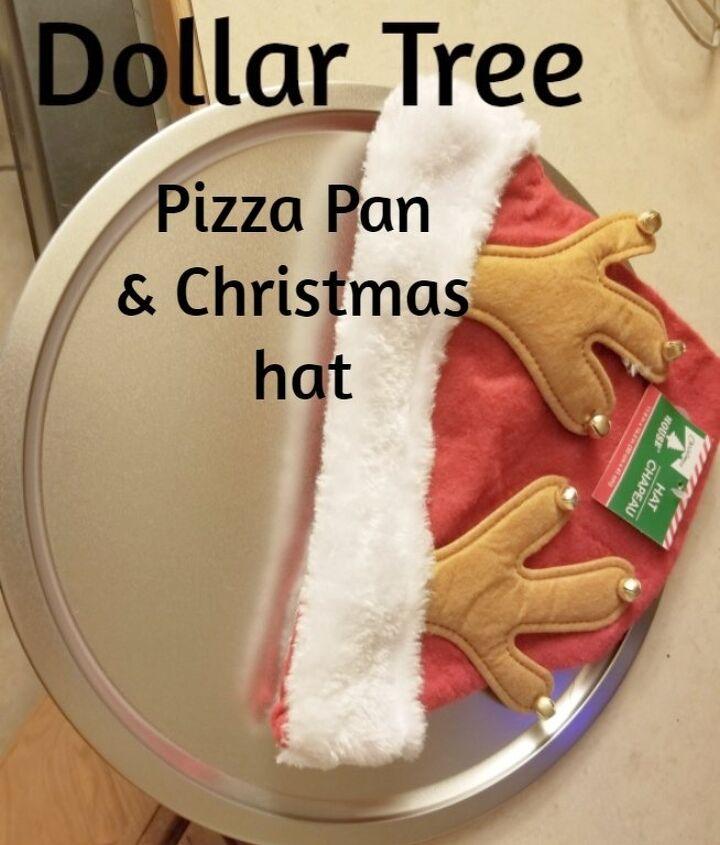 pizza pan reindeer