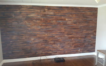 Pallet Wood Wall With Custom Finish