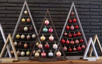 Easy Wooden DIY Ornament Display Tree