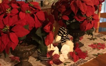 christmas table runner quick and super easy