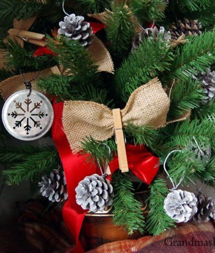 four home made diy farmhouse ornaments