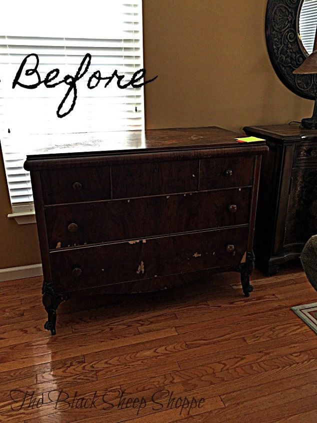 refurbish wood furniture without sanding or stripping