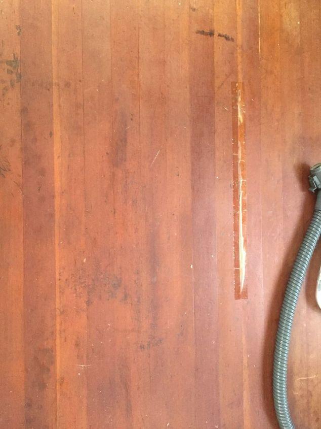 q how do i refinish old termite wood floors
