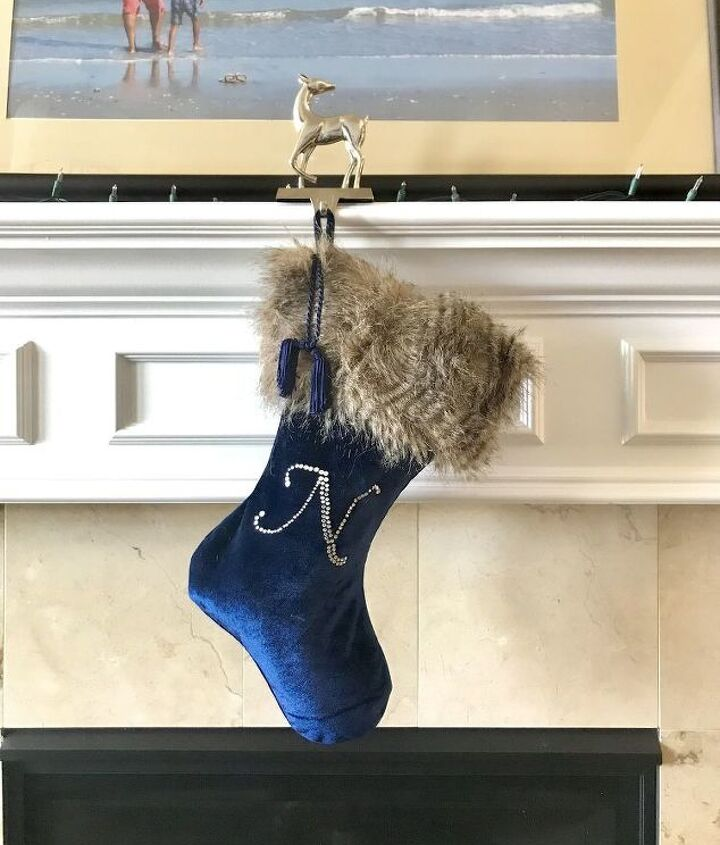 give old christmas stockings new life with faux fur