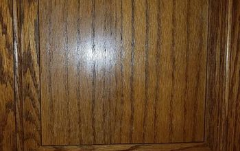 q how to refinish cabinet