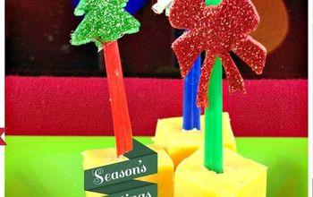 DIY Christmas Appetizer Skewers